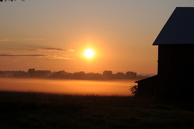 Sunrise in Amish Country