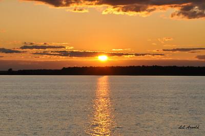Sunset at Bresslers