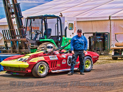Tambeaux Racing - 2010 NJMP (Vintage Trans-Am Event).  Chris Schneider (Crew Chief)