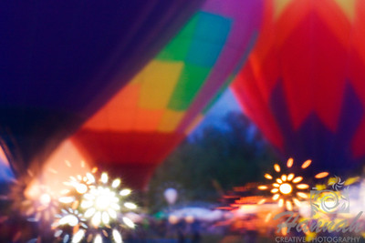 Tigard Festival of Balloons 2012 Shot using the Lensbaby with Soft focus optic  © Copyright Hannah Pastrana Prieto