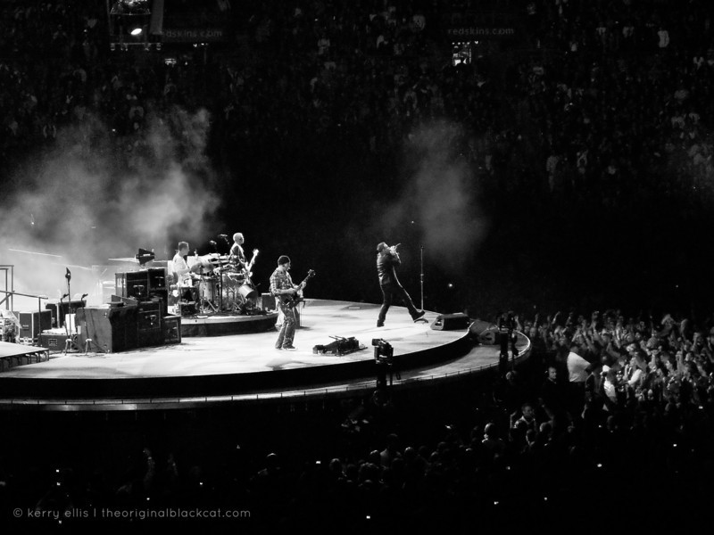 U2 360º tour at FedEx Field in Landover, Maryland. September 29, 2009.