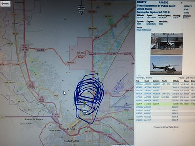 N204TX Eurocopter AS350 in East El Paso
