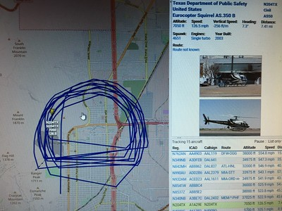 N204TX Eurocopter AS350 in Northeast El Paso