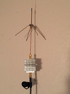 Wire Quarter Wave Antenna with LNA