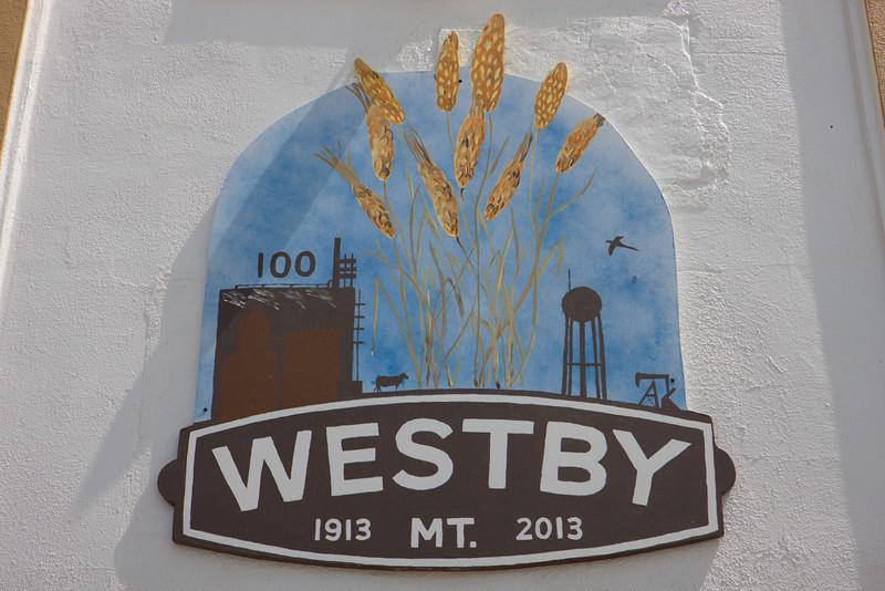 Westby Centennial Logo