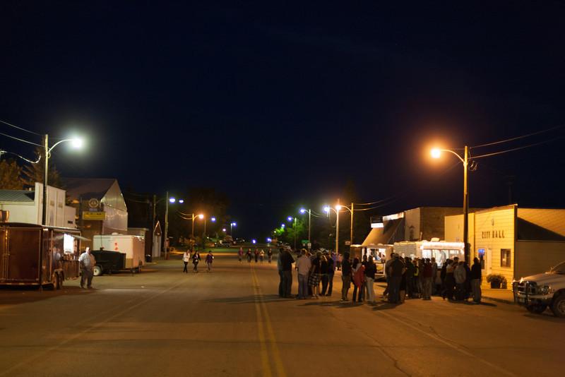 Westby Centennial Late night Street Gathering