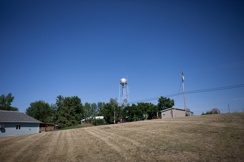Westby Water Tower from Main street