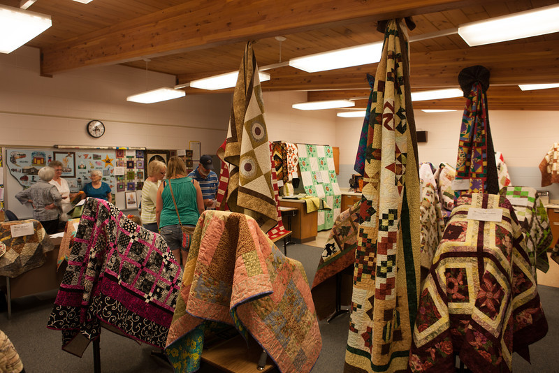 Westby Centennial Quilt Display