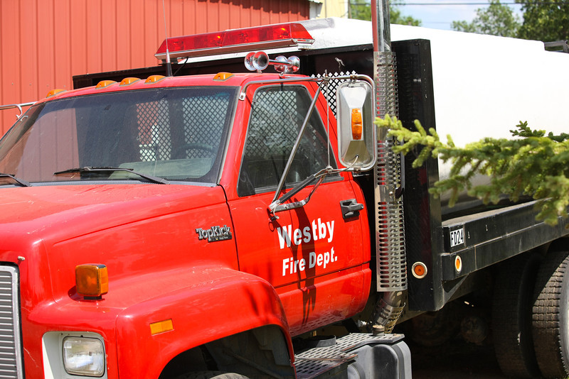 Westby Fire Truck side