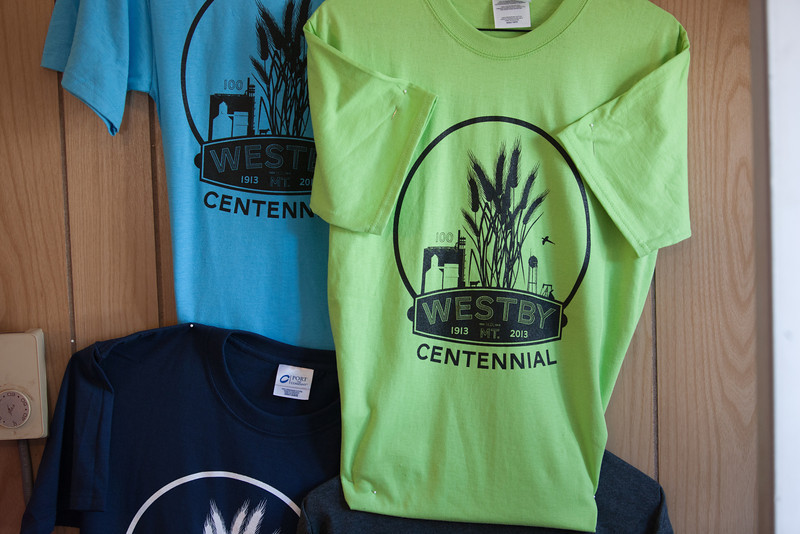 Many colors of Centennial T-Shirts