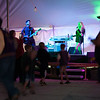 "Westby Centennial Band ""Beyond Control"" under the tent"