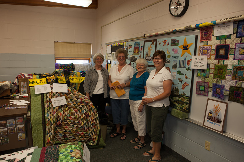 Westby Centennial Quilt Display Group