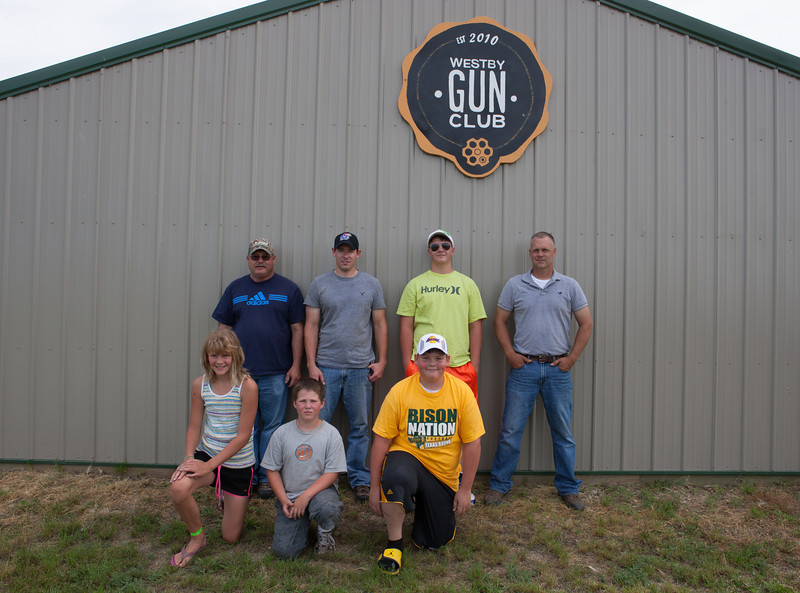 Group shot at Annie Oakley Contest