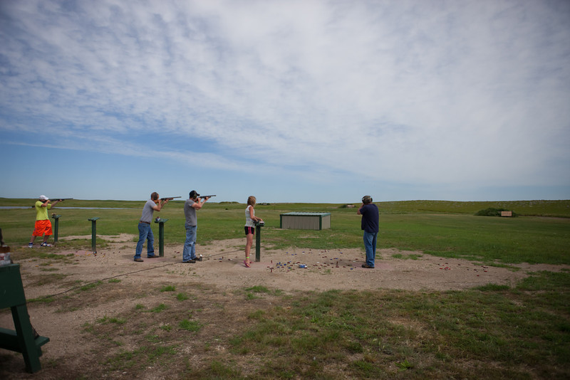 Annie Oakley Trap Shoot Wide View