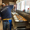 Flipping Pancakes at the Pancake Breakfast