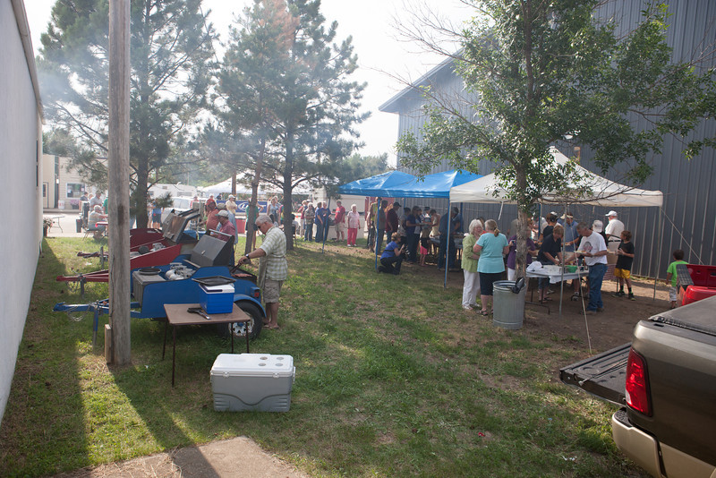 Wide angle of the Steak Fry
