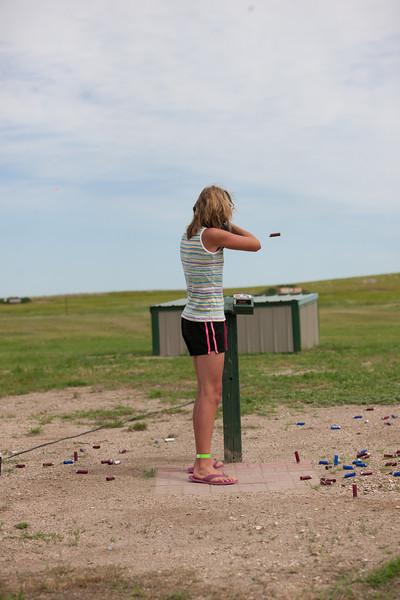 Annie Oakley Trap Shoot Contestant