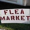 Centennial Flea Market sign