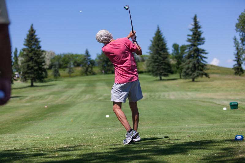 Jerry at the Centennial Golf Tournament