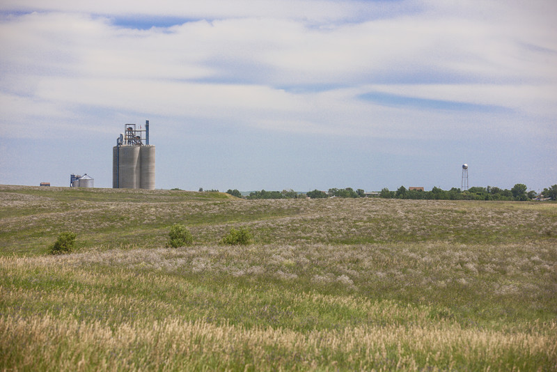Westby elevator from a distance