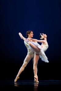 Swan Lake II Act past de deux - Elisa Ramos, Erick Rodriguez