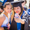 """Kaylene McCutcheon, right, and Makenzie McCutcheon takes a selfie on the steps of the Carlson Center before the UAF commencement ceremony. Kaylene McCutcheon received a medical assistant associate degree, Sunday, May 8, 2016.  <div class=""""ss-paypal-button"""">Filename: GRA-16-4896-122.jpg</div><div class=""""ss-paypal-button-end""""></div>"""