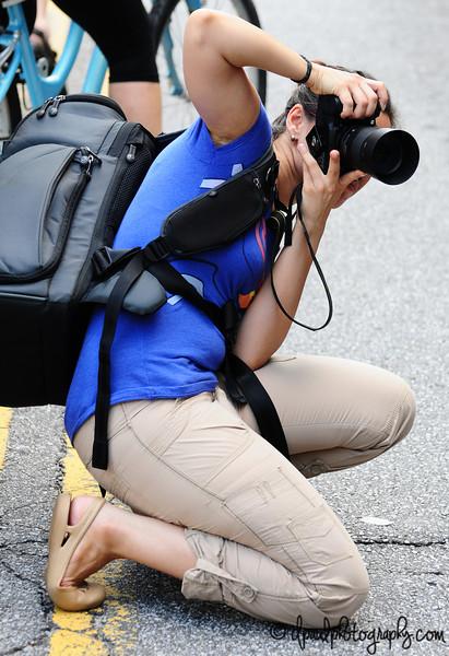 Dedication and Commitment by Photographers ;) :-) @ Atlanta Street Live 2013 - Atlanta, Georgia - USA