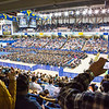 """Nearly 600 students crossed the stage to receive a certificate or degree during the 94th commencement ceremony Sunday, May 8, 2016, at the Carlson Center.  <div class=""""ss-paypal-button"""">Filename: GRA-16-4896-234.jpg</div><div class=""""ss-paypal-button-end""""></div>"""