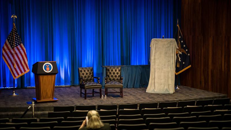 Portraite unveiling for former Transportation Secretary Hon. Hilda Solis