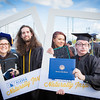 "Graduates surrounded by friends and family pose for a photo after the 2016 commencement ceremony outside the Carlson Center.  <div class=""ss-paypal-button"">Filename: GRA-16-4895-102.jpg</div><div class=""ss-paypal-button-end""></div>"