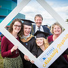"""Graduates surrounded by friends and family pose for a photo after the 2016 commencement ceremony outside the Carlson Center.  <div class=""""ss-paypal-button"""">Filename: GRA-16-4895-189.jpg</div><div class=""""ss-paypal-button-end""""></div>"""