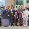 "2014 graduate Mamie Davis poses with her family after the honors program commencement ceremony May 10 on the Fairbanks campus.  <div class=""ss-paypal-button"">Filename: GRA-14-4183-244.jpg</div><div class=""ss-paypal-button-end"" style=""""></div>"