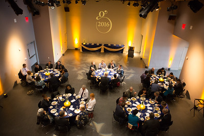 The Gold Banquet held at the UA Museum of the North auditorium is an annual event for UAF honorary degree recipients and other special guests for commencement.  Filename: GRA-16-4894-214.jpg