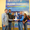 """Chaitanya Borade, left, and  Vamshi Avandhula  present a check to UAF United Way campaign chair Mike Earnest after raising funds through the Namaste India student club-sponsored Diwali festival on campus. In back are Prof. Shirish Patil, founder and faculty advisor, and Amanda Wall, United Way campaign co-chair.  <div class=""""ss-paypal-button"""">Filename: DEV-13-4000-6.jpg</div><div class=""""ss-paypal-button-end"""" style=""""""""></div>"""