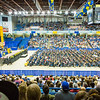 """Nearly 600 students crossed the stage to receive a certificate or degree during the 94th commencement ceremony Sunday, May 8, 2016, at the Carlson Center.  <div class=""""ss-paypal-button"""">Filename: GRA-16-4896-230.jpg</div><div class=""""ss-paypal-button-end""""></div>"""