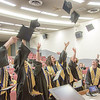 "Graduates from UAF's Honors Program toss their caps in celebration at the conclusion of their commencement ceremony May 10 in Schaible Hall on the Fairbanks campus.  <div class=""ss-paypal-button"">Filename: GRA-14-4183-193.jpg</div><div class=""ss-paypal-button-end"" style=""""></div>"