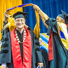 """Elder statesman John Sackett was awarded an honorary doctor of laws degree.  <div class=""""ss-paypal-button"""">Filename: GRA-13-3827-0899.jpg</div><div class=""""ss-paypal-button-end"""" style=""""""""></div>"""