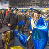 """Honors scholar Heather Currey had to dodge some big balloons on her way out of the Carlson Center after the ceremony.  <div class=""""ss-paypal-button"""">Filename: GRA-13-3827-1155.jpg</div><div class=""""ss-paypal-button-end"""" style=""""""""></div>"""