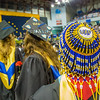 "Social work graduate Tonya Esmailka wore some unique headgear during UAF's commencement ceremony May 11 in the Carlson Center.  <div class=""ss-paypal-button"">Filename: GRA-14-4186-0723.jpg</div><div class=""ss-paypal-button-end"" style=""""></div>"
