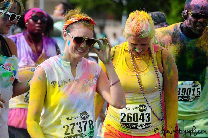 Run Or Dye - Atlanta @ Turnerfield, Atlanta, Georgia - USA