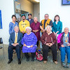 """The Down River Singers from several Athabascan villages throughout Alaska's Interior, performed at the annual Gold Dinner for special guests at UAF's 2013 commencement.  <div class=""""ss-paypal-button"""">Filename: GRA-13-3826-122.jpg</div><div class=""""ss-paypal-button-end"""" style=""""""""></div>"""