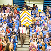 """Students from the College of Engineering and Mines walk down to the main floor of the Carlson Center during the commencement processional, Sunday, May 8, 2016.  <div class=""""ss-paypal-button"""">Filename: GRA-16-4896-321.jpg</div><div class=""""ss-paypal-button-end""""></div>"""