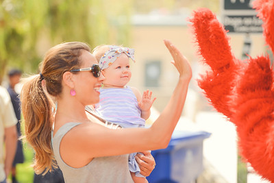 High - five with Elmo