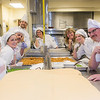 "Students and staff pause for a group photo in the kitchen during the annual CTC culinary scholarship banquet in the Hutchison Institute of Technology.  <div class=""ss-paypal-button"">Filename: DEV-12-3383-153.jpg</div><div class=""ss-paypal-button-end"" style=""""></div>"
