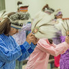 """Members of a local high school Native dance ensemble perform during the 2012 commencement ceremony for UAF's Bristol Bay Campus in Dillingham.  <div class=""""ss-paypal-button"""">Filename: GRA-12-3391-146.jpg</div><div class=""""ss-paypal-button-end"""" style=""""""""></div>"""