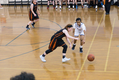 Clayton Middle School Basketball Jan. 11, 2018