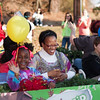 Sweet smiles at the Garner Christmas Parade