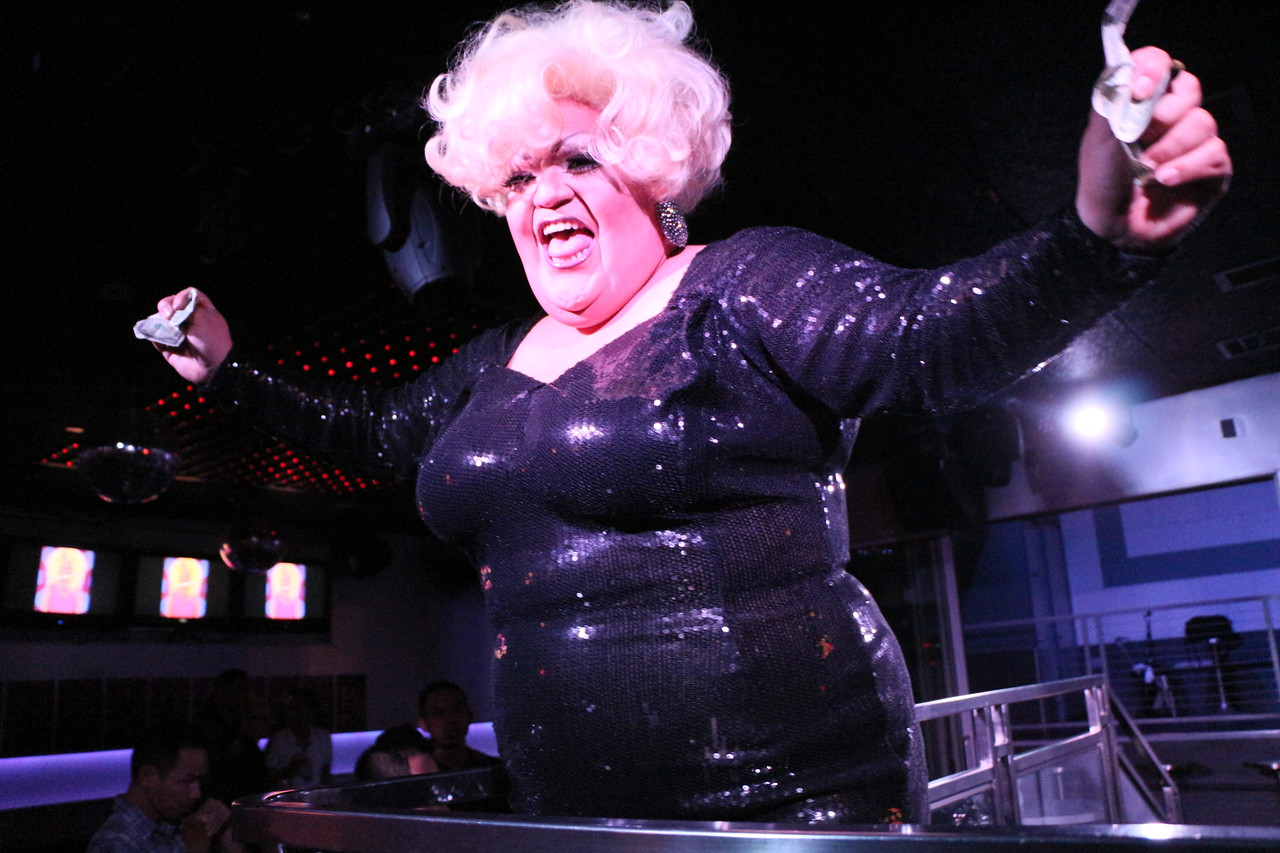2014-02-10 Drag Mondays @ The Cafe 875