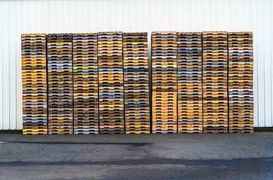 Stacked Pallets, Astoria, 2018