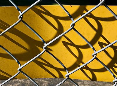 Chain Link Shadows, Portland, 2020